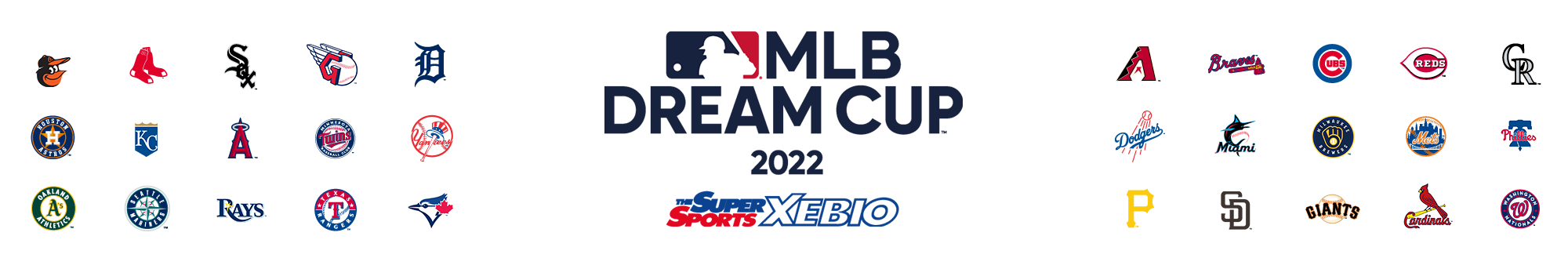 MLB DREAMCUP supported by XEBIO Group